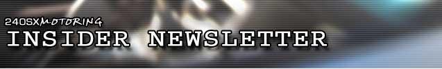 240sx Motoring: Insider Newsletter Logo